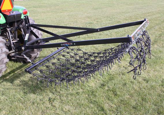 Harrow Drag Frame : Mounted harrow hackett harrows